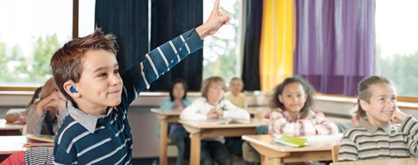 کودکان کم شنوا در مدرسه